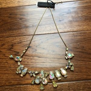 J. Crew Crystal Statement Necklace NWT